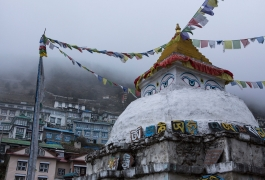 Foggy-weather-at-Namche