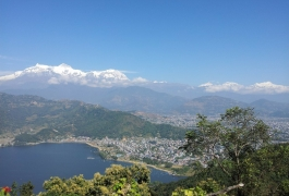 A View of Pokhara