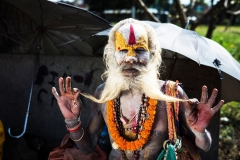 A-Hindu-Sadhu-Showing-His-Beard-in-the-Pashupatinath-Temple