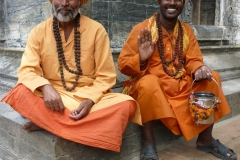 Saints-in-Pashupati