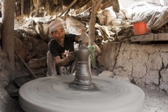 A-Man-Making-a-Pot-in-Bhaktapur