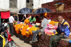 Garland-Vendors-in-Basantapur