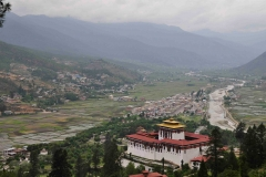 Paro-Dzong-&-North-Paro-Valley