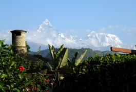 A-View-of-Machapuchare