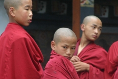 Young-Monks-in-Bhutan