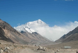Everest View from Tibet