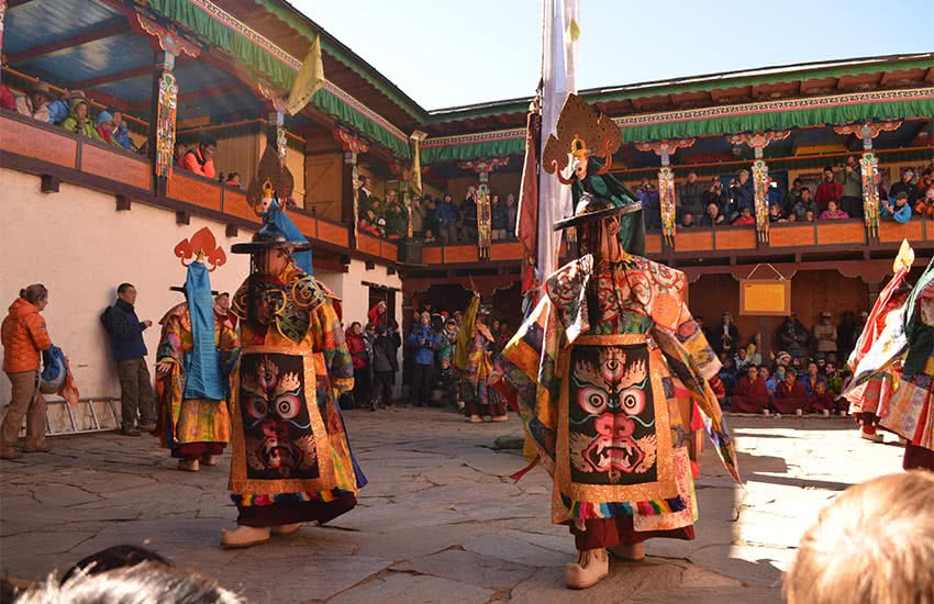 Mani Rimdu Festival at Tengboche Monastery