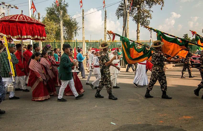 Dashain fulpati
