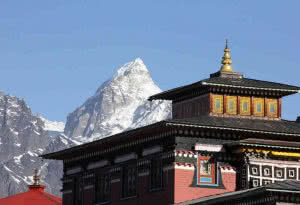 Everest Panorama :Tengboche Monastery